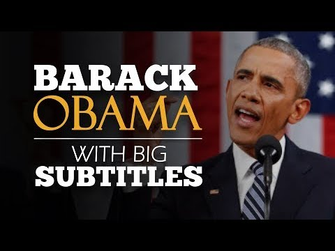 {LEARN ENGLISH} Obama: Yes We Can | SPEECH with BIG SUBTITLES
