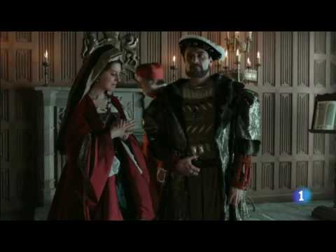Charles V meets Henry VIII and Katherine of Aragon (Carlos, rey emperador)