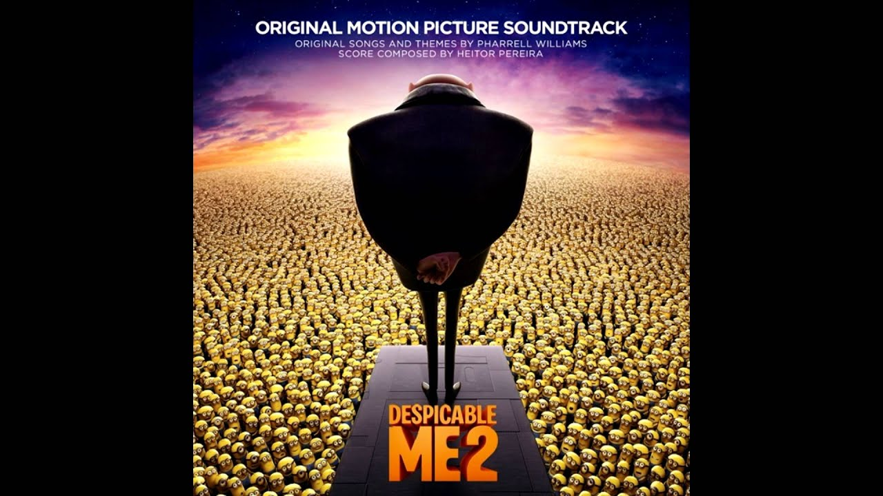 pharrell williams happy soundtrack of despicable me 2