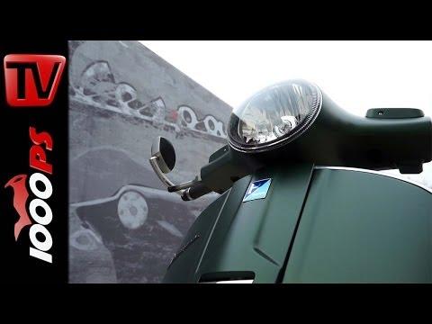 Vespa GTS 300 Faber Umbau (Akrapovic, Malossi, Rizoma)