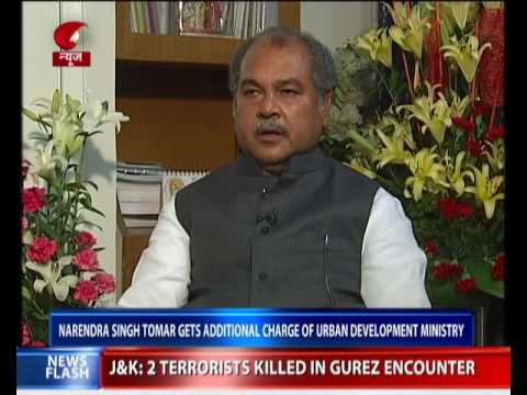 Union Min Narendra Singh Tomar gets additional charge of Urban Development Ministry