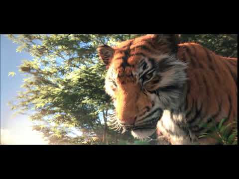 Tiger Jump - CGI