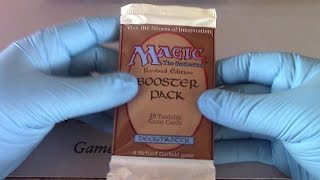 Revised Booster Pack Opening MTG Magic the Gathering! Openboosters!