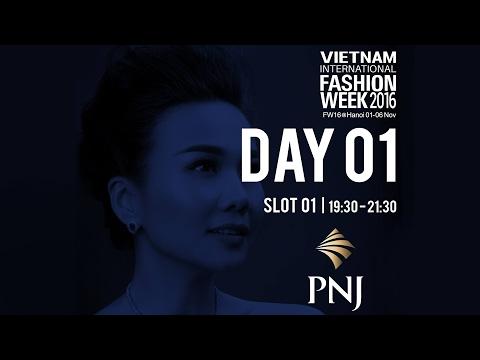 I LOVE VIETNAM BY PNJ   VIETNAM INTERNATIONAL FASHION WEEK FALL WINTER 2016