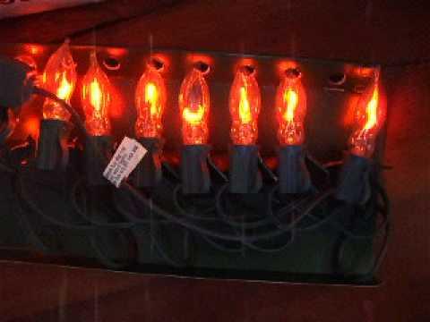 Flicker Flame Christmas Tree Lights - Flicker Flame Christmas Tree Lights - YouTube