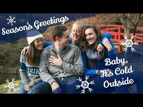 Duke's Rhythm & Blue Performs 'Baby It's Cold Outside' with Revised Lyrics