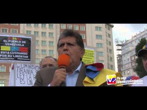Alan García:Maduro es monosilábico y no tiene una sola neurona