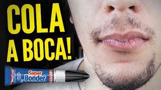COLA A BOCA COM SUPER BONDER! #ASKLIRA08