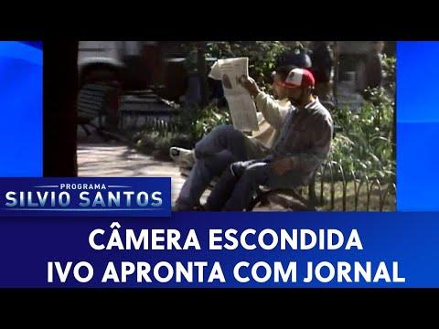 Ivo apronta com jornal | Câmeras Escondidas (01/11/19)