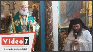 بطريرك الروم الأرثوذكس: كنيستنا تقدم المساعدات للاجئين السوريين