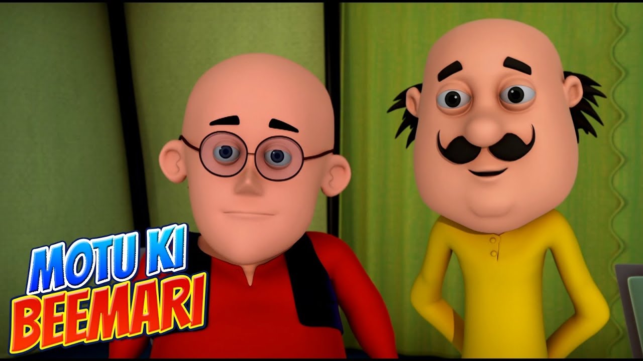Motu Patlu in Hindi |  मोटू पतलू  | Motu Patlu cartoon | Motu Ki Beemari