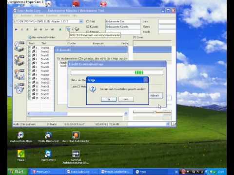 Arbeiten mit Exact Audio Copy (EAC)