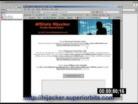 Affiliate Hijacker: Sell any Product in 2 Minutes 30 Secs!