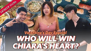 Chiara Goes On TWO Steak And Cake V-Day Dates   Eatbook Vlogs   EP 69