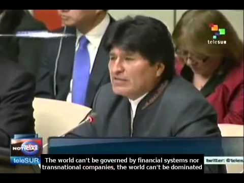 Bolivia President takes on presidency of the G-77 and China