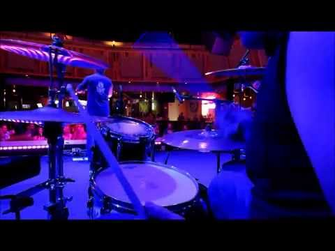 RockStar Rodeo - Bottoms Up (Brantley Gilbert) Drum Cam - Toby Keiths Chicago 07/05/14