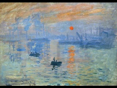 claude monet impression soleil levant youtube. Black Bedroom Furniture Sets. Home Design Ideas