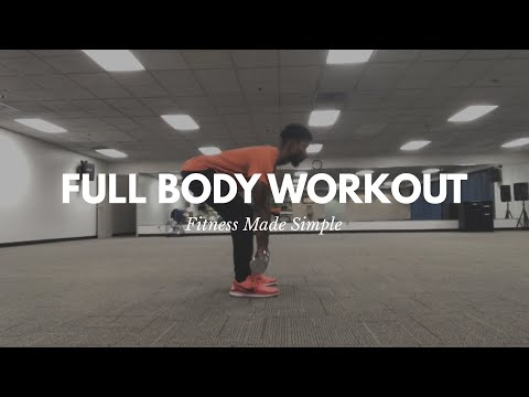 Fitness Made Simple |Full Body Workout For Beginners