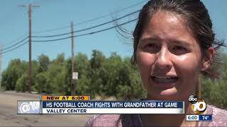 Valley Center High coach fights with grandfather at game