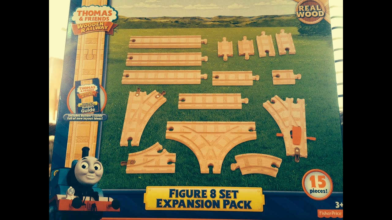 Unboxing The Thomas And Friends Wooden Railway Figure 8 Expansion Pack