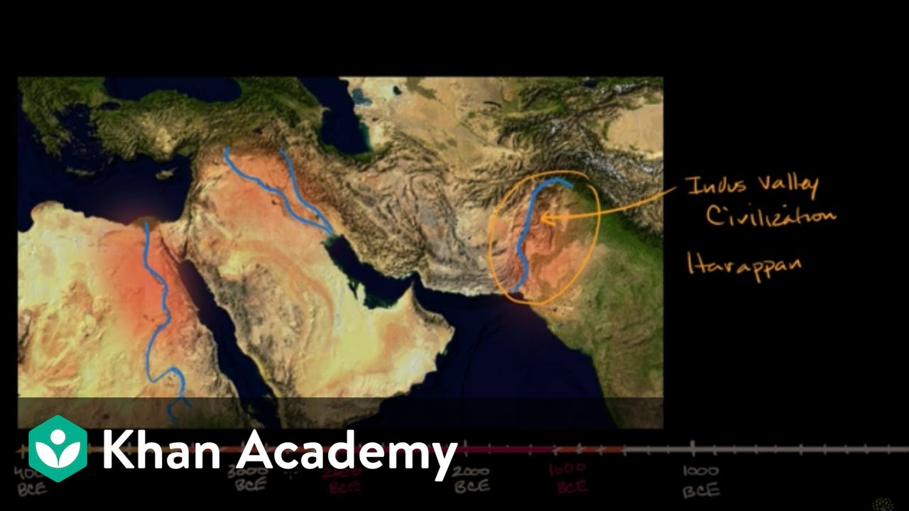 Indus River Valley civilizations on