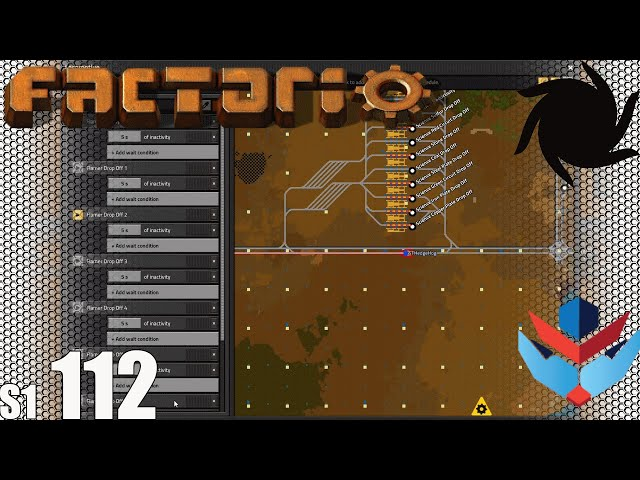 Factorio MP with NOG - S01E112 - Fixing Flame Thrower Fuel Delivery