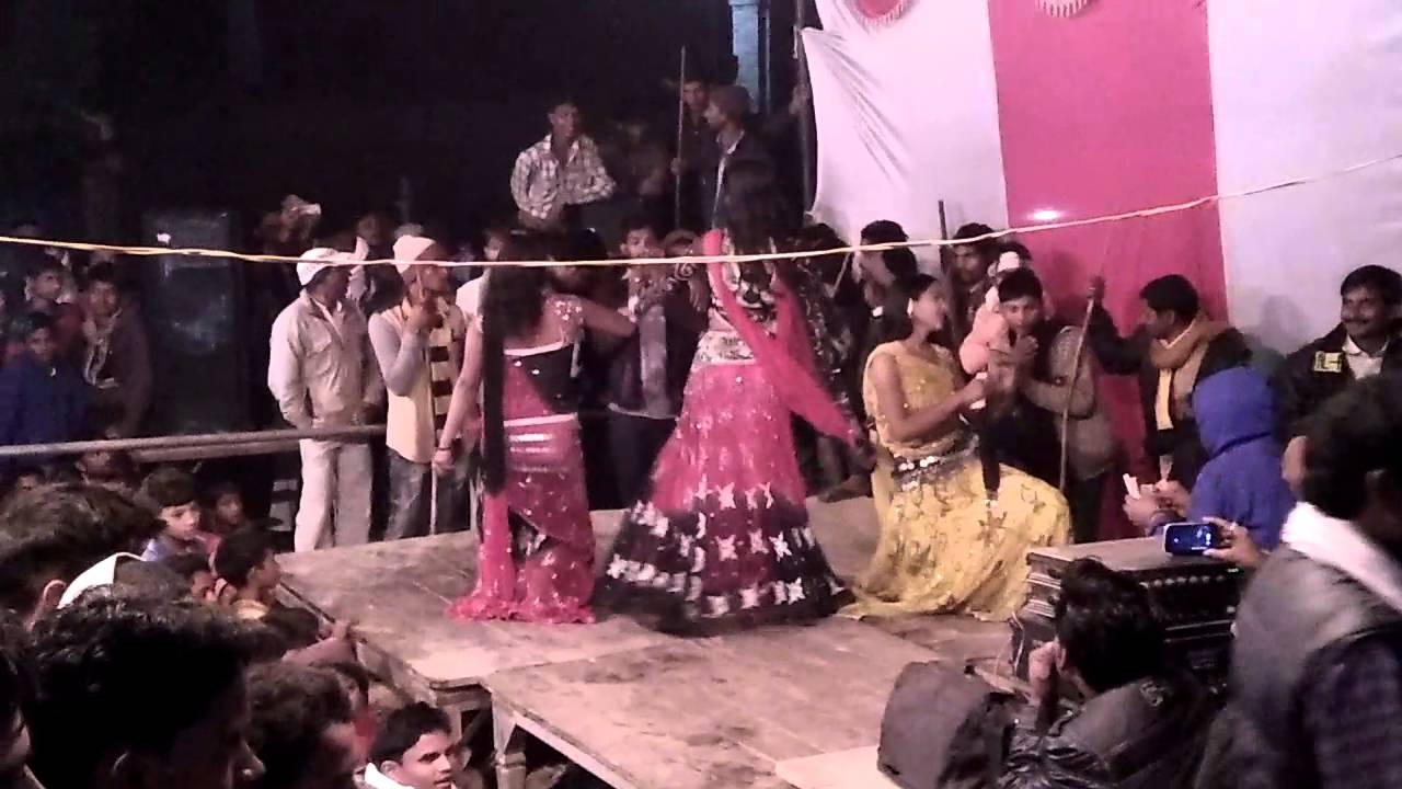 Arkestra d j dance in u p village of Bahraich district colorful program in  bhojpuri song