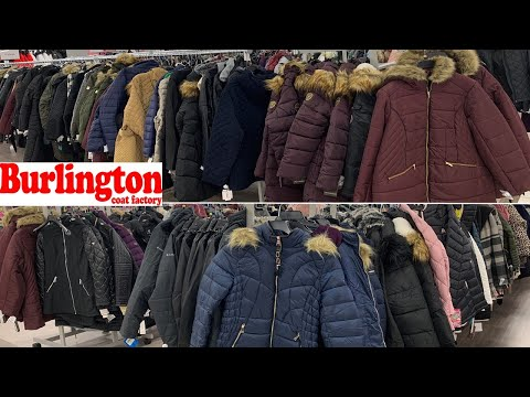 Burlington Coat Factory Winter Clothing ~ Jackets Coats $ Prices ~ Shop With Me 2019