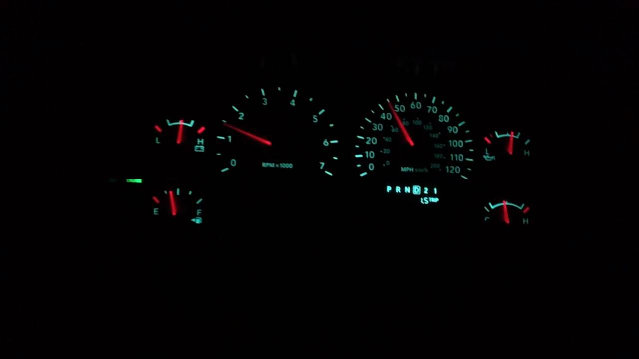 Dodge Ram Gauge Cluster Rebooting