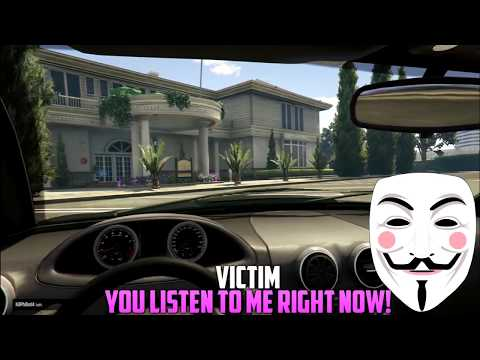 Anonymous Hacker TROLLING on GTA 5! (Cheating Wife)