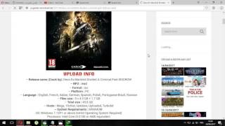 how to download  Deus Ex Mankind Divided Torrent Full Game Cracked
