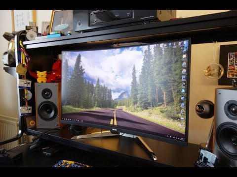 BenQ EX3203R review - A cheap 144Hz 1440p HDR gaming monitor - By  TotallydubbedHD
