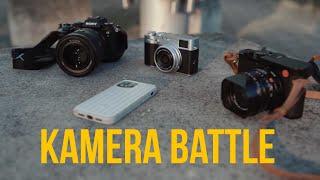Fuji X100V vs Leica Q2 vs Sony…