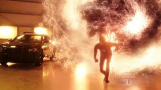 Флеш спасает город от Ядерного Взрыва. Флеш 4 сезон 15 серия. Flashtime