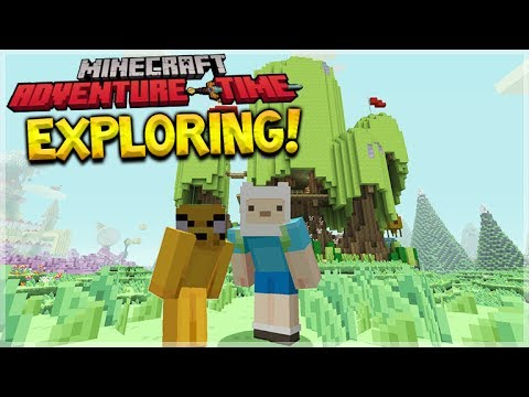 MINECRAFT ADVENTURE TIME - New Mash-Up Pack First EXPERIENCE (Minecraft Console Edition)