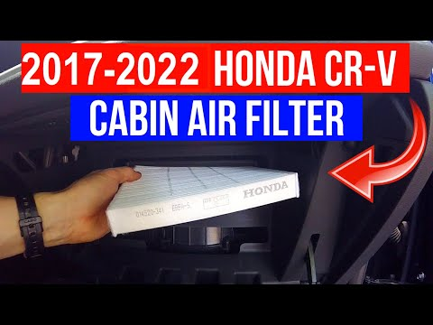 2017-2021 Honda CR-V Cabin Air Filter Replacement -Jonny DIY