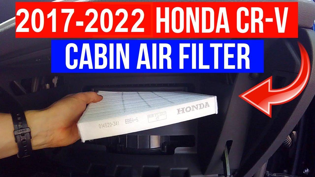 Cabin Air Filter >> 2017-2019 Honda CR-V Cabin Air Filter Replacement -Jonny ...
