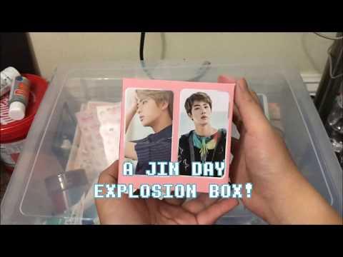 HappyJinDay Simple Explosion Box