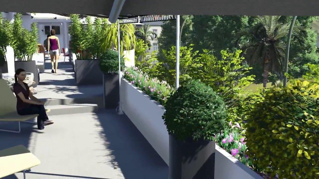 Terraza paisajismo jardineria miryam s martinez videla for Paisajismo terrazas