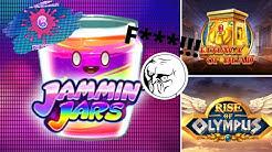 Online Casino Deutsch Slots - Jammin Jars, Legacy of Dead, Rise of Olympus, Royal Seven