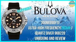 Fantastic Budget Diver! | Bulova Sea King 300m UHF 262kHz Quar…