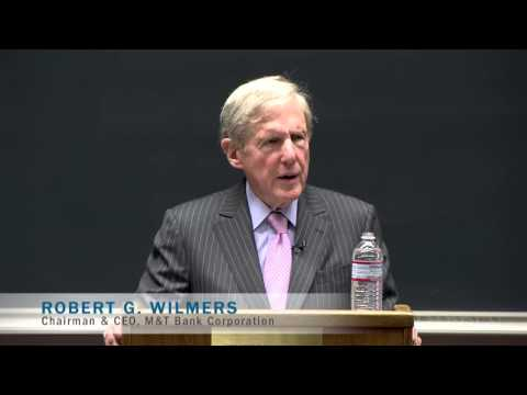 Inspiring Leaders: Robert G. Wilmers,  M&T Bank Corporation