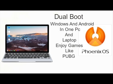 How To Install Phoenix OS Android 7.1.1 On PC OR Laptop or Usb [Dual Boot] [Windows + Android]