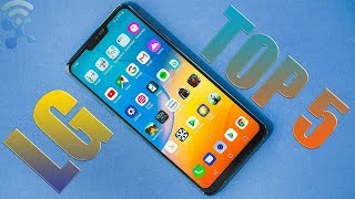 Top 5 Latest LG Smartphones in 2018