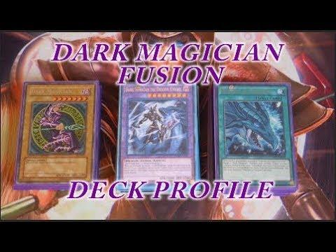 YUGIOH Dark Magician Fusion Deck Profile - YouTube