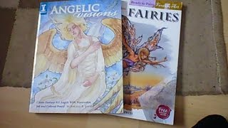 2 Books To Inspire Me To Draw Angels And Fairies