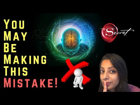 Big Mistake! Law Of Attraction Mistake You May Be Making! How to Manifest Desires~