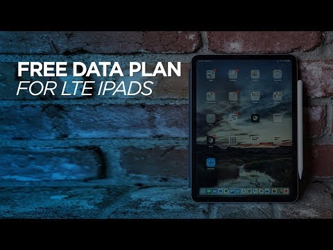 Free Data Plan For Your LTE IPad