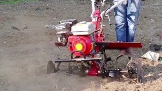 7HP Mini Tiller for Small Farmers | Mini Tiller Trailer | Rajaspray in Punjab
