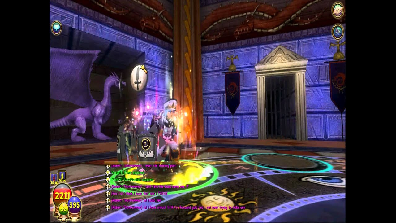 Wizard101 Death Spells - Year of Clean Water